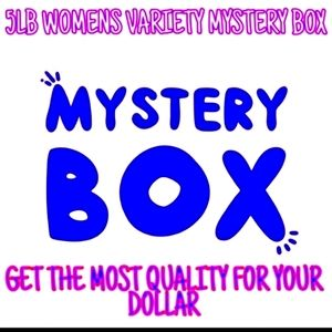 WOMENS 5LB No Regrets Variety Mystery Boxes